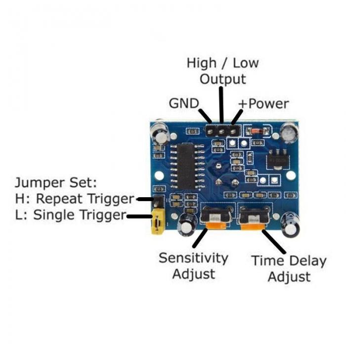 PIR Sensor HC-SR501 Module