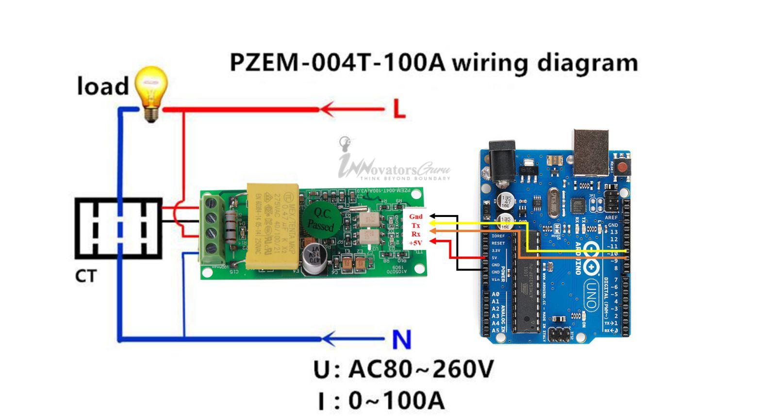 PZEM-004T-Arduino