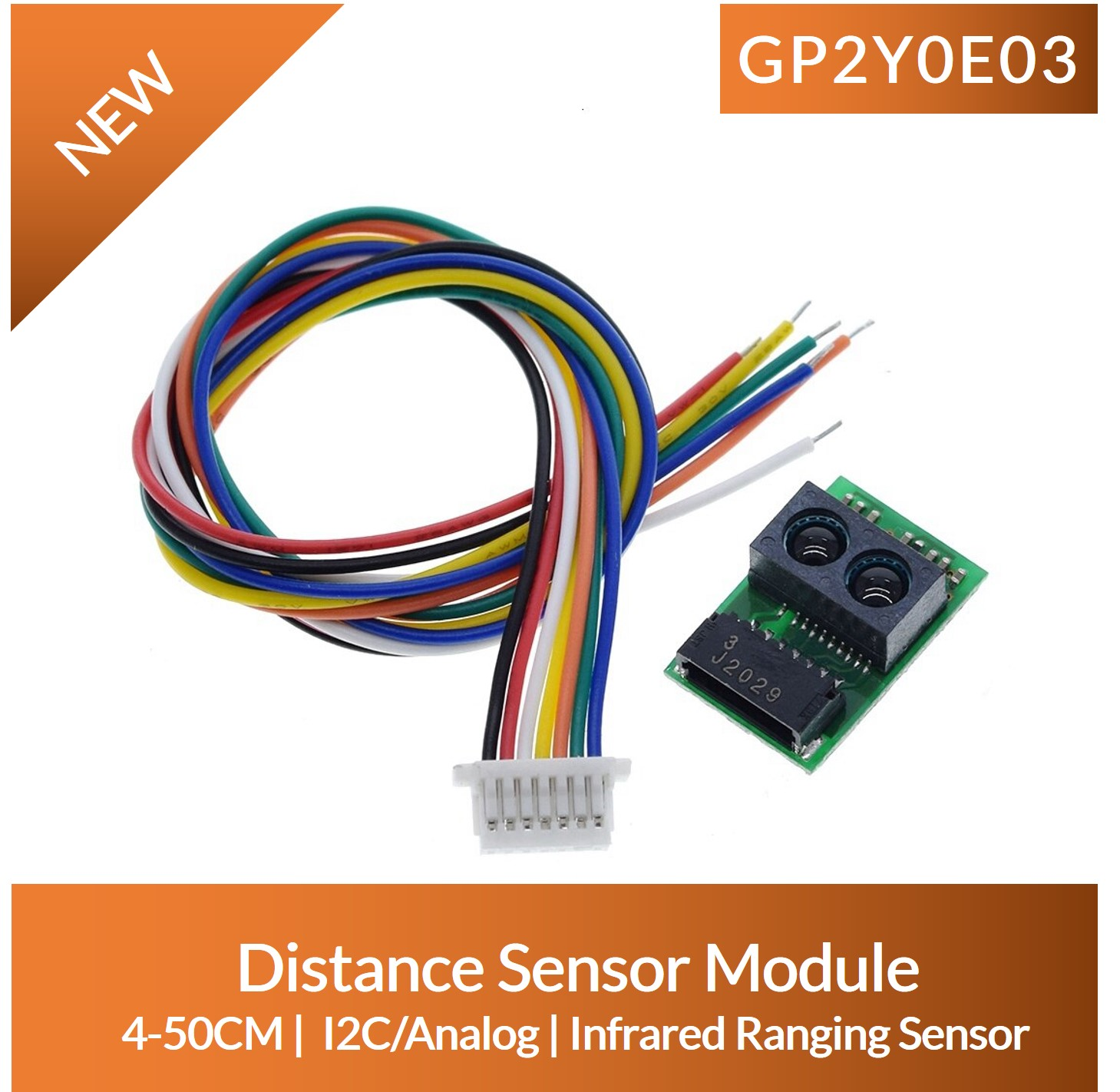 GP2Y0E03 arduino Review Price Specifications