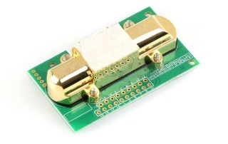 MH-Z14A NDIR Co2 sensor arduino