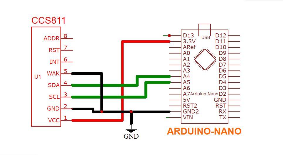 ccs811 air quality sensor